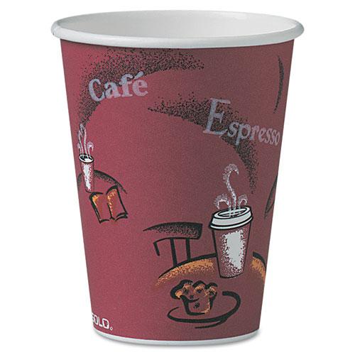 Bistro Design Hot Drink Cups, Paper, 12oz, 300/Carton OF12BI0041