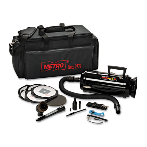 Metro Vac Anti-Static Vacuum/Blower, Includes Storage Case HEPA & Dust Off Tools | by Plexsupply
