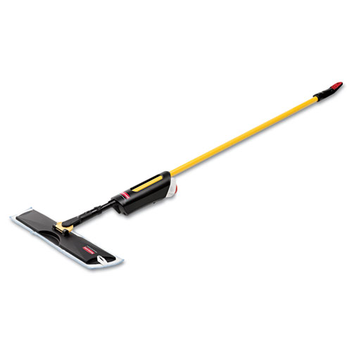 Light Commercial Spray Mop, 18 Frame, 52 Steel Handle