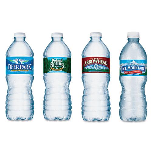 Nestle Waters® Bottled Natural Spring Water, .5L, Bottles, 24/Carton