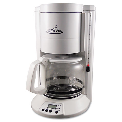 OGFCP330W Coffee Pro Home/Office 12-Cup Coffee Maker - Zuma