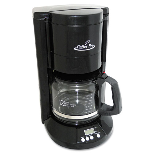 Ogfcp333b coffee pro home office 12 cup coffee maker zuma for Apartment therapy coffee maker