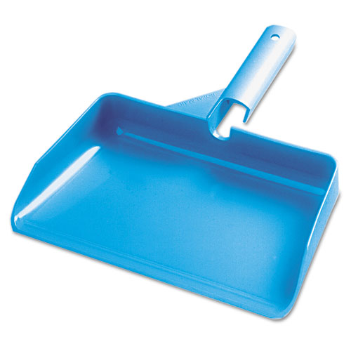 "7290006160109, Dustpan, Household Style, 11 1/2"" W, 3 1/2"" Handle, Blue"