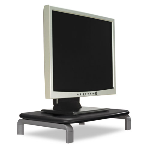 Monitor Stand with SmartFit System, 11.5 x 9 x 3, Black/Gray