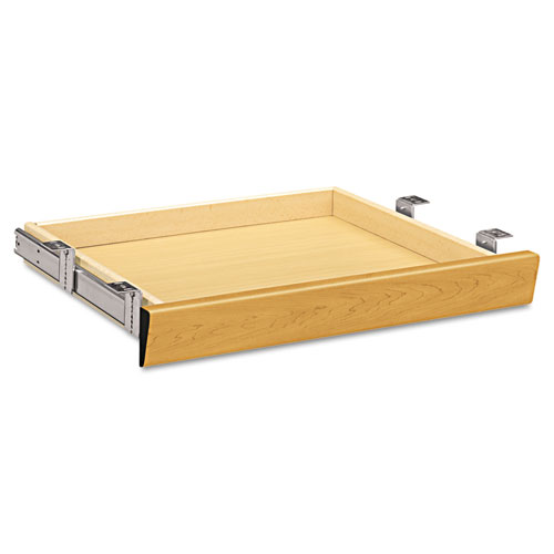 Laminate Angled Center Drawer, 22w x 15 3/8d x 2 1/2h, Harvest