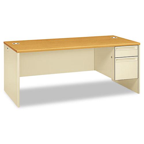 Hon 38000 Series Right Pedestal Desk 72w X 36d 29 1