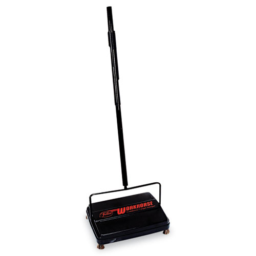 Workhorse Carpet Sweeper, 46, Black