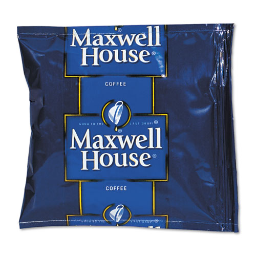 Maxwell House® Coffee, Regular Ground, 1.5oz Pack, 42/Carton