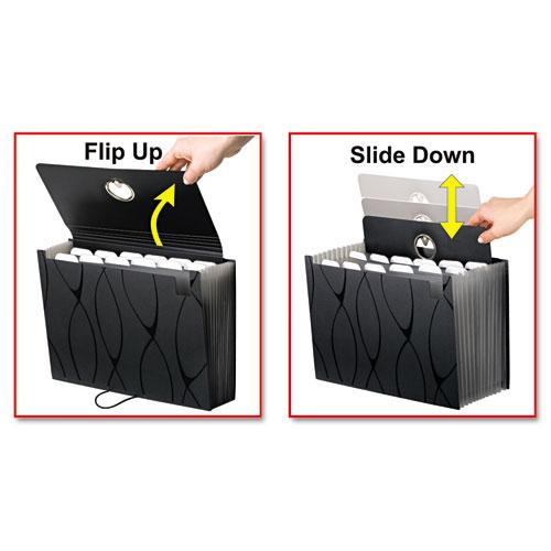 Pfx02327 Pendaflex Sliding Cover Expanding File Zuma