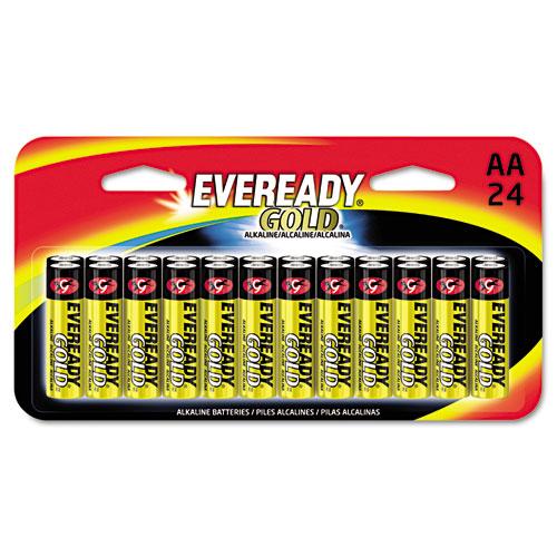 Eveready® Gold Alkaline Batteries, 9V, 4 /Pk