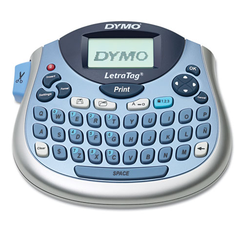 LetraTag 100T Label Maker, 2 Lines, 6.7 x 2.8 x 5.7