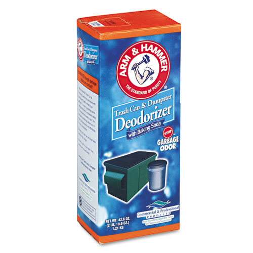 Trash Can & Dumpster Deodorizer, Sprinkle Top, Original, 42.6 oz Powder | by Plexsupply