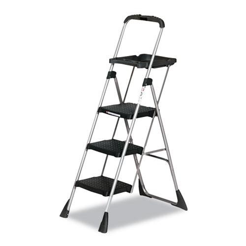 "Max Work Platform, 55"" Working Height, 225 lbs Capacity, 3 Step, Black | by Plexsupply"