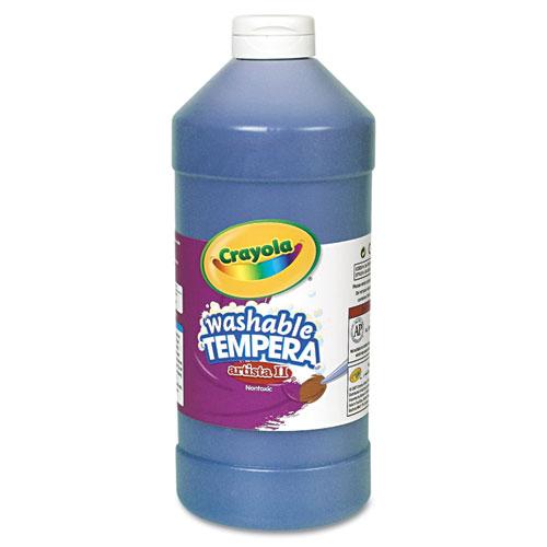 Artista II Washable Tempera Paint, Blue, 32 oz | by Plexsupply