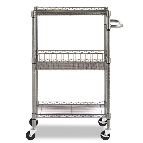 Alera Industrial Kitchen Carts At Lowes Com: ALESW342416BA Alera® Three-Tier Wire Rolling Cart