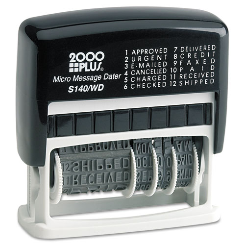 Micro Message Dater, Self-Inking