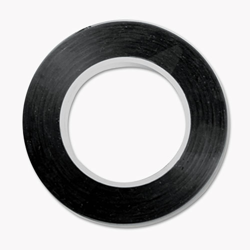 "Art Tape, 18"" x 28.5 ft, Black 