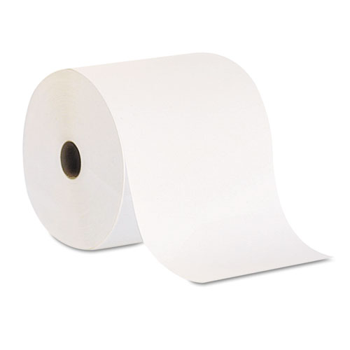 Pacific Blue Basic Nonperf Paper Towel Rolls, 7 7/8 x 800 ft, White, 6 Rolls/CT | by Plexsupply
