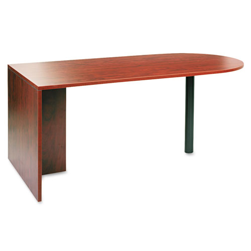 Alera Valencia Series D Top Desk, 71w x 35.5d x 29.63h, Medium Cherry