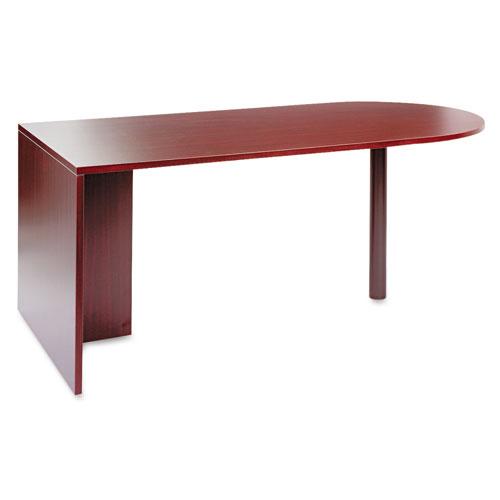 Alera Valencia Series D Top Desk, 71w x 35.5d x 29.63h, Mahogany | by Plexsupply