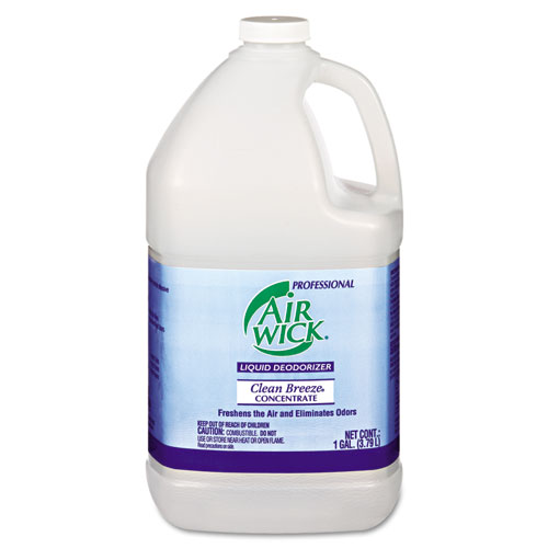 Liquid Deodorizer, Clean Breeze, 1 gal, Concentrate