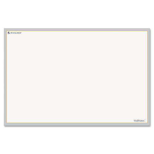 WallMates Self-Adhesive Dry Erase Writing Surface, 36 x 24 | by Plexsupply