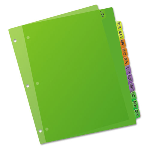 AVE11331 Avery Preprinted Plastic Tab Dividers