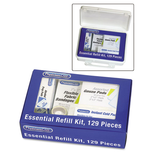 Essential Refill Kit, 129 Pieces/Kit