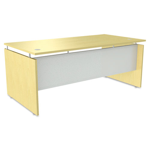 Alera® Alera Sedina Series Straight Front Desk Shell, 66w x 30d x 29 1/2h, Espresso