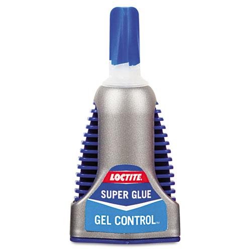 Control Gel Super Glue, 0.14 oz, Dries Clear