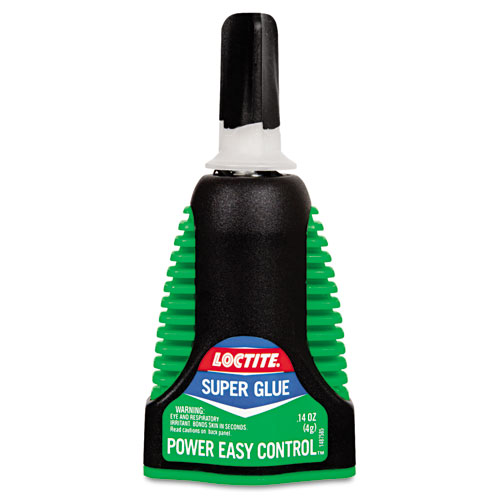 Extra Time Control Super Glue, 0.14 oz, Dries Clear | by Plexsupply