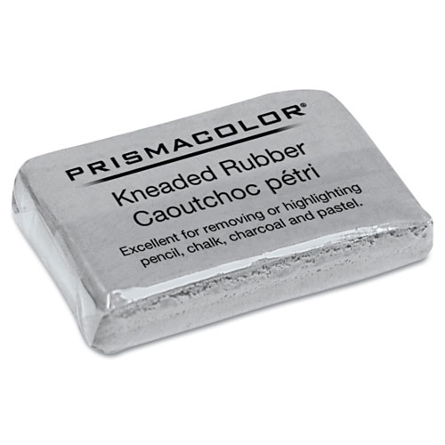 Design Kneaded Rubber Art Eraser, Rectangular, Large, Gray | by Plexsupply