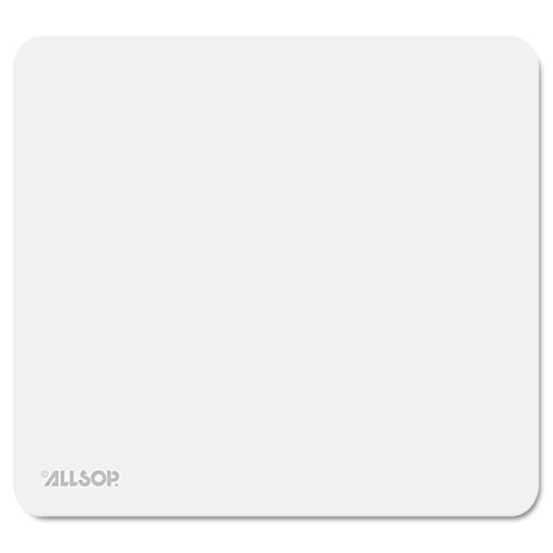 Accutrack Slimline Mouse Pad, Silver, 8 3/4 x 8