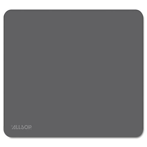 Accutrack Slimline Mouse Pad, Graphite, 8 3/4 x 8