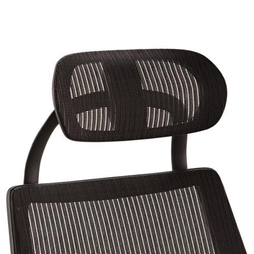 Alera Headrest for K8 Chair, Mesh, Black