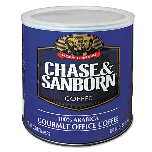 Coffee, Regular, 34.5oz Can | by Plexsupply