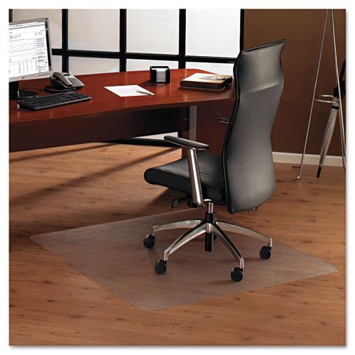 Floortex® Cleartex Ultimat XXL Polycarbonate Chair Mat for Hard Floors, 60 x 60, Clear