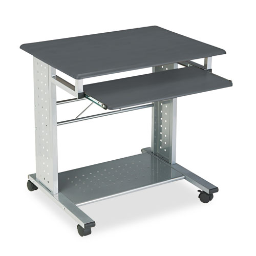 Empire Mobile PC Cart, 29.75w x 23.5d x 29.75h, Anthracite