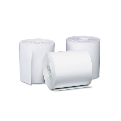 Direct Thermal Printing Thermal Paper Rolls, 3.13 x 230 ft, White, 8/Pack