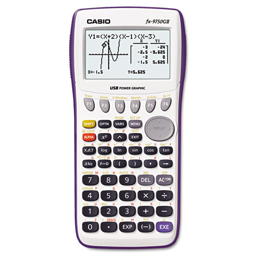 9750GII Graphing Calculator, 21-Digit LCD | by Plexsupply