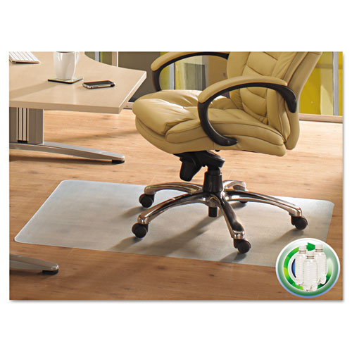 Floortex Ecotex Revolutionmat Recycled Chair Mat For Hard Floors