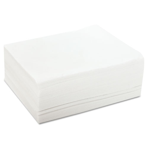 DuraWipe Towels, 12 x 13 1/2, White, 50 Wipers/Pack, 20 Packs/Carton | by Plexsupply