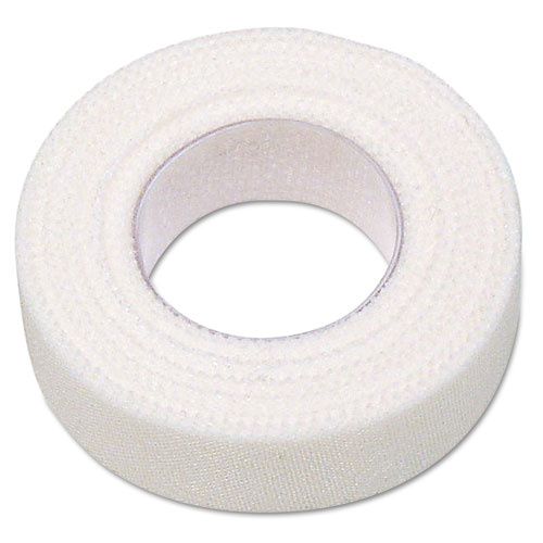 First Aid Adhesive Tape, 1/2 x 10yds, 6 Rolls/Box