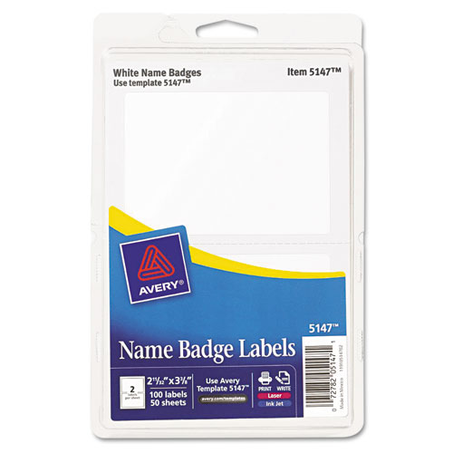 Ave5147 avery printable self adhesive name badges zuma for Avery template 5147
