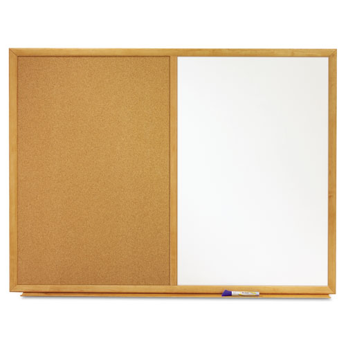 Combination Bulletin Board & Dry Erase Board