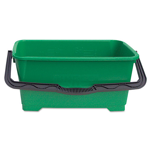 Pro Bucket, 6gal, Plastic, Green | by Plexsupply