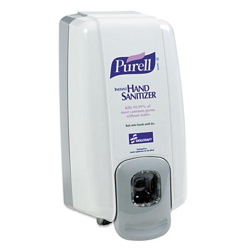 4510015219870, SKILCRAFT, PURELL Wall Dispenser, 1,000 mL, 5 x 4 x 10, Gray, 6/Box