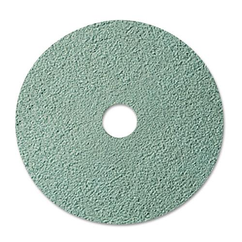 """3M™ Burnish Floor Pad 3100, 20"""" Diameter, Aqua, 5/Carton"""
