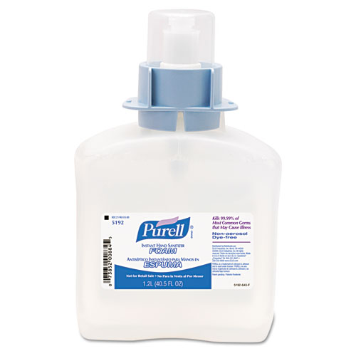 PURELL® FMX-12 Refill Advanced Foam Hand Sanitizer, 1200 mL, 4/Carton