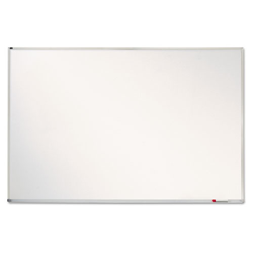 Porcelain Magnetic Whiteboard, 72 x 48, Aluminum Frame | by Plexsupply